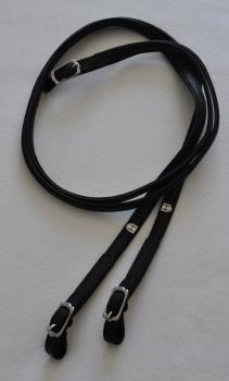 Hillbury Zügel Elchleder mit Schnalle, 260 cm