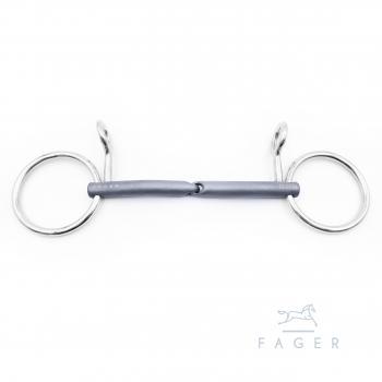 Fager Anton, Bauche, lose Ringe, einfach gebrochen, 11.5 cm