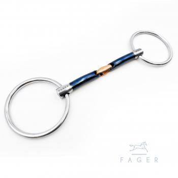 Fager John, Sweet Iron, lose Ringe, doppelt gebrochen, 11,5 cm