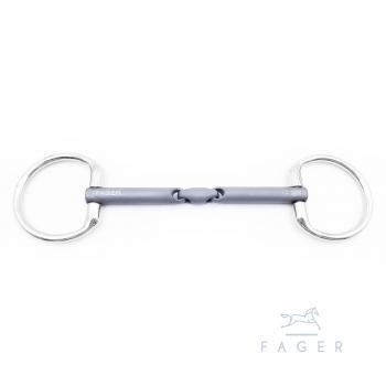 Fager Madeleine Titan, feste Ringe, doppelt gebrochen, 12.0 cm